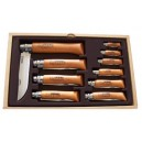 Coffret couteaux Opinel collection lame acier