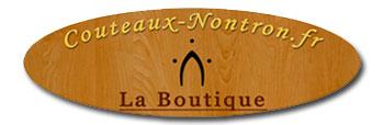 Couteaux Nontron et accessoires - logo de la boutique - Catalogue et tarifs 2020