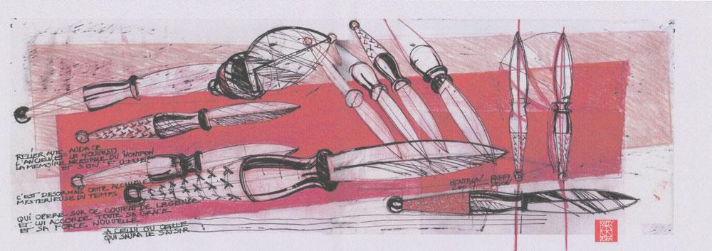 Le couteau de Nontron par Eric RAFFY ... créations design originales